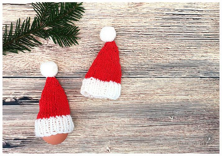 Makerist - Weihnachtliche Eierwärmer - Strickprojekte - 3