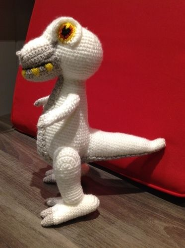 Makerist - T-Rex - Häkelprojekte - 1