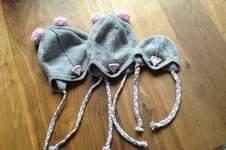 Makerist - Mäusemützen für drei süße Mäuse-Schwestern - 1