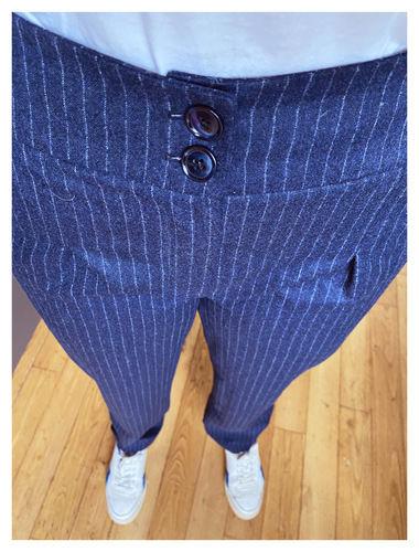 Makerist - Orageuse - Pantalon Bruges - Laine et Coton - Créations de couture - 2