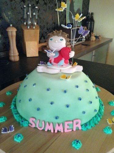 Makerist - Summer's 1. Geburtstag - Torten, Cake Pops und Cupcakes - 1
