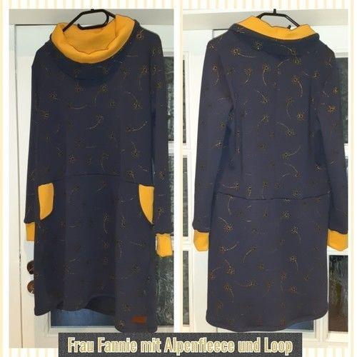 Makerist - Kleid Frau Fannie in Alpenfleece  - Nähprojekte - 1