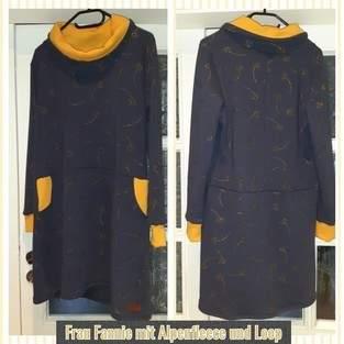 Makerist - Kleid Frau Fannie in Alpenfleece  - 1