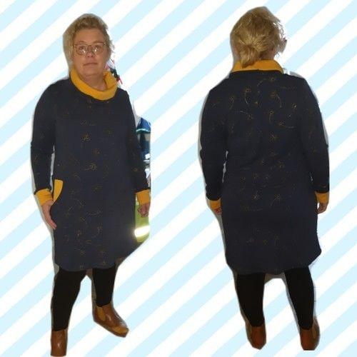Makerist - Kleid Frau Fannie in Alpenfleece  - Nähprojekte - 2