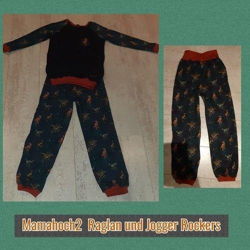 Makerist - Raglan Pullover nach Mamahoch 2 und Jogger  - Nähprojekte - 1