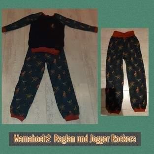 Makerist - Raglan Pullover nach Mamahoch 2 und Jogger  - 1