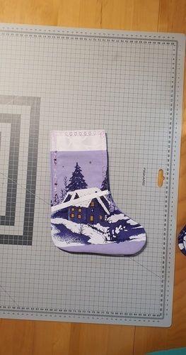Makerist - Besteckstiefel Weihnachtlich - Nähprojekte - 1