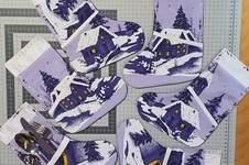 Makerist - Besteckstiefel Weihnachtlich - 1