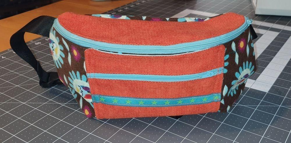 Makerist - Bauchtascche - Nähprojekte - 1