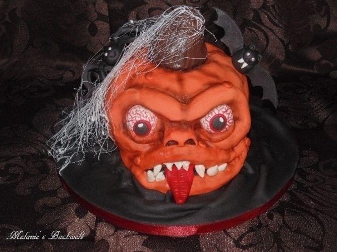 Makerist - Halloween Torte - Torten, Cake Pops und Cupcakes - 2
