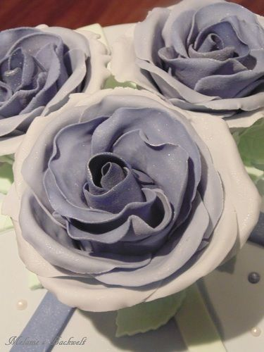 Makerist - Kleine Rosen Torte - Torten, Cake Pops und Cupcakes - 2