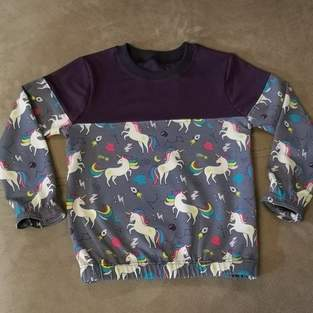 Makerist - Tee-shirt Levi en mode licorne - 1