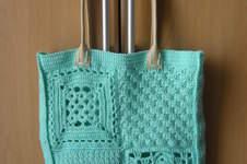 Makerist - Tasche aus verschiedenen Grannies - 1