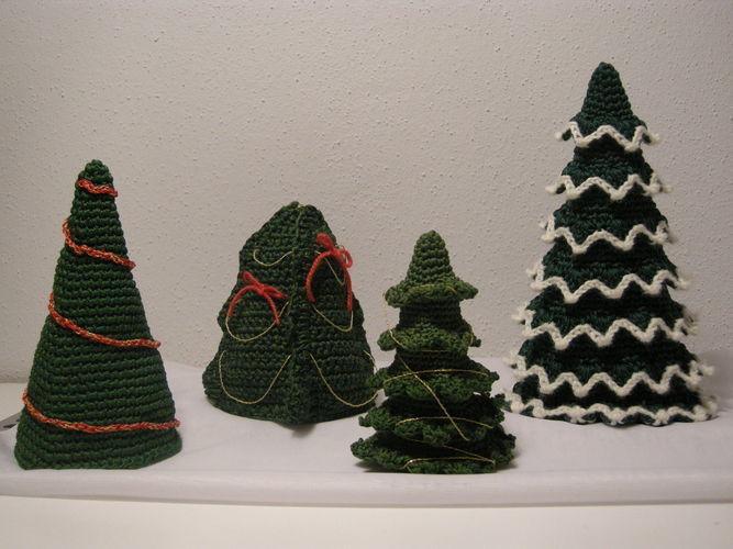 Makerist - Weihnachtsbäume, die keine Nadeln verlieren - Häkelprojekte - 1