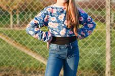 Makerist - Girls Sweaterdress als Crop-Version - 1