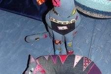 Makerist - Katzenkissen , aus einer alten Jeans und Stoffresten  - 1