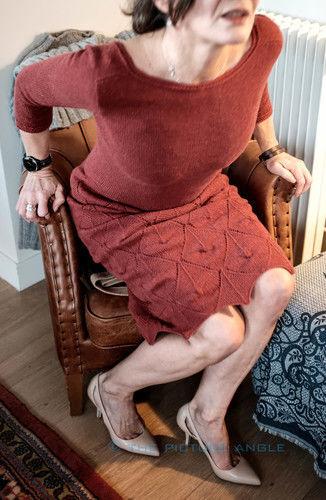 Makerist - Little Red Dress, Holst Tides in Chianti - Strickprojekte - 2