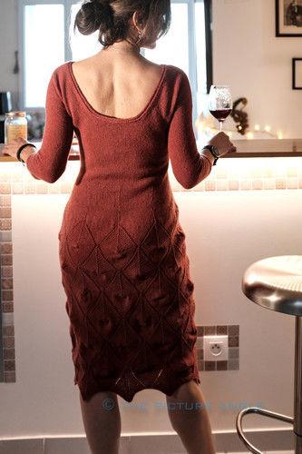 Makerist - Little Red Dress, Holst Tides in Chianti - Strickprojekte - 3