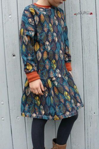 Makerist - Girls sweater dress - Nähprojekte - 1