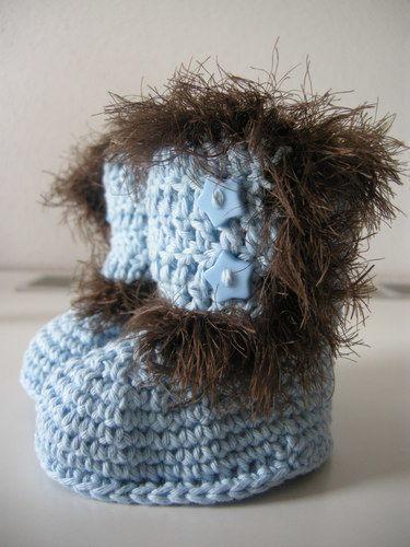 Makerist - Babystiefelchen für einen strengen Winter - Häkelprojekte - 1