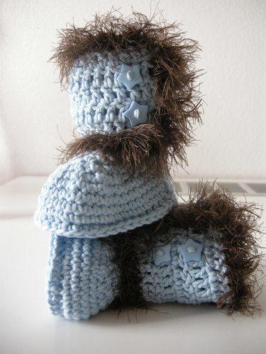 Makerist - Babystiefelchen für einen strengen Winter - Häkelprojekte - 2