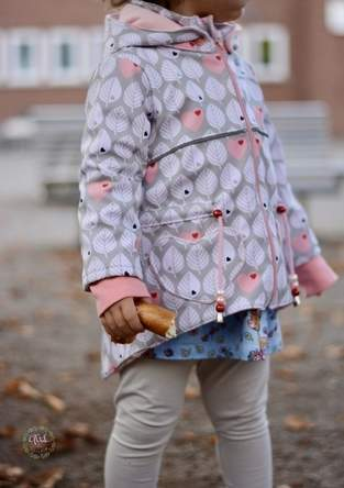 Cool Jacket 2.0 aus Softshell, gefüttert :)
