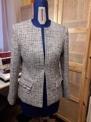 Makerist - Bouclejacke im Chanel Stil - 1