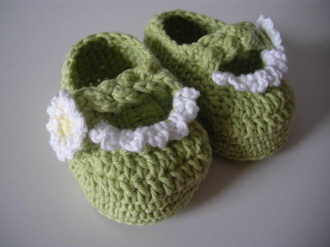 Makerist - Babyschuhe für den Frühling - Häkelprojekte - 2