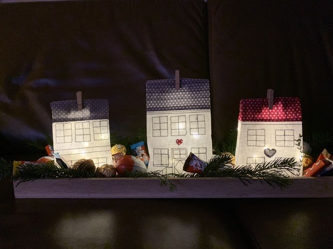 Makerist - Lichthäuser - Nähprojekte - 1