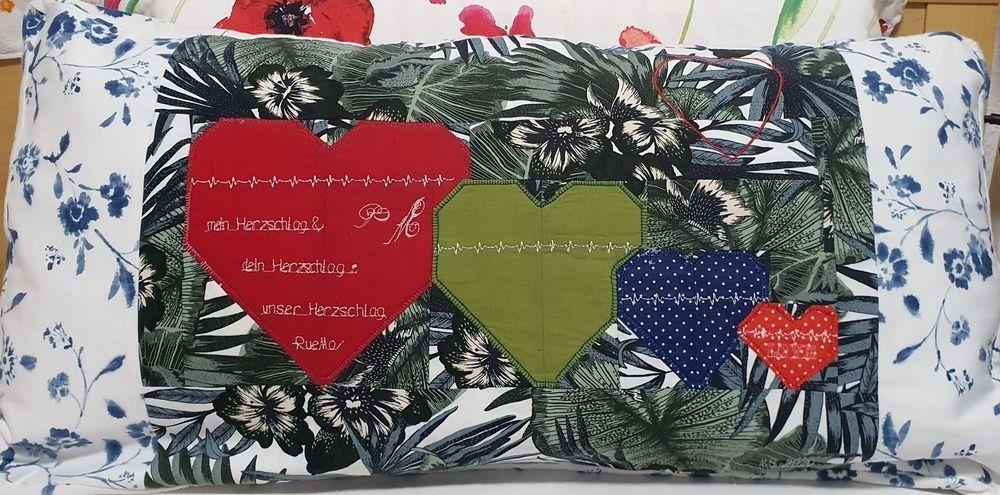 Makerist - Kissenbezug für meinen Schatz - Patchwork-Projekte - 1