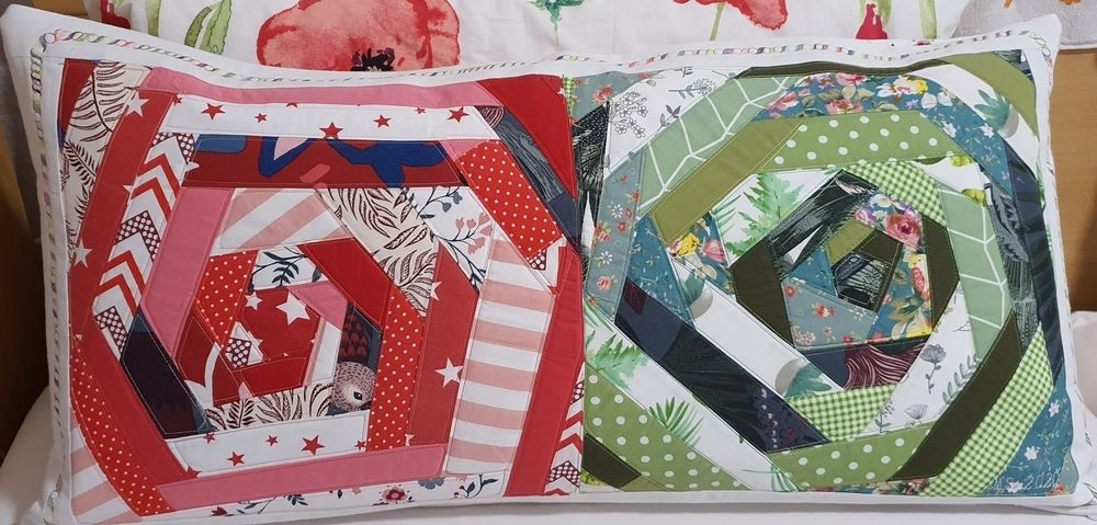Makerist - Kissenbezug2 - Patchwork-Projekte - 1