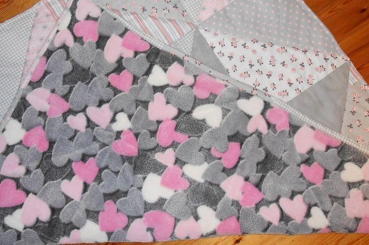 Makerist - Patchworkdecke aus Baumwolle und Fleece für das Baby meiner Nichte - Nähprojekte - 2