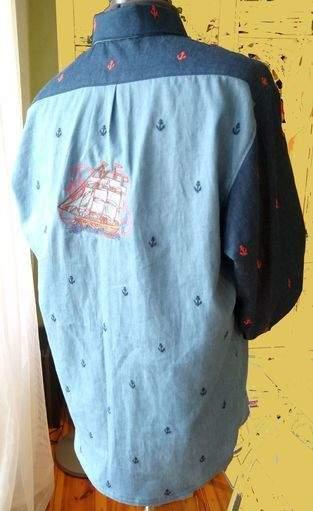 Makerist - Herrenhemd Maritim - 1