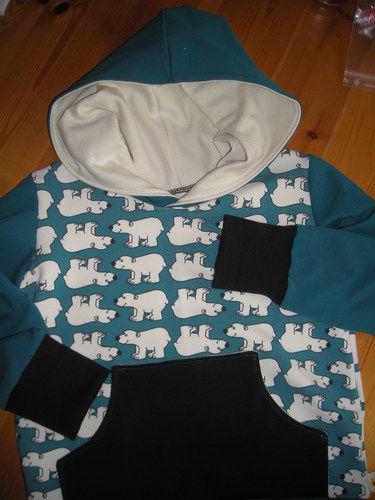 Makerist - Babyset und Sweat mit Eisbären - Nähprojekte - 2