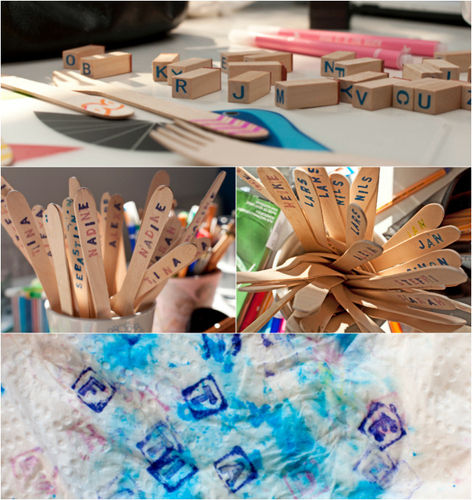 Makerist - Personalisiertes Partybesteck - DIY-Projekte - 2