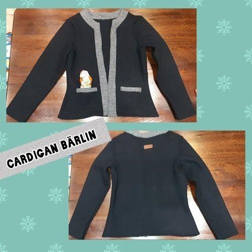 Makerist - Cardigan Bärlin - Nähprojekte - 1