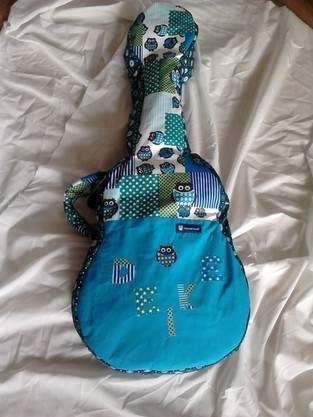 Makerist - Gitarrentasche für meine Tochter - 1