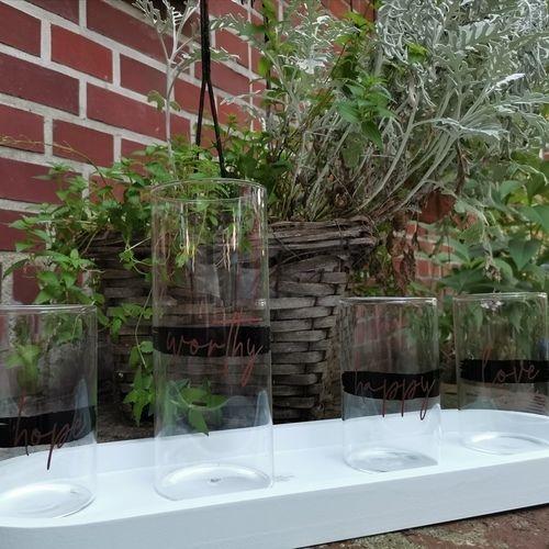 Makerist - Glasbehälter zur Deko beplotted  - DIY-Projekte - 1