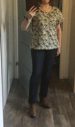 Makerist - Damen Jersey-Shirt - Nähprojekte - 1