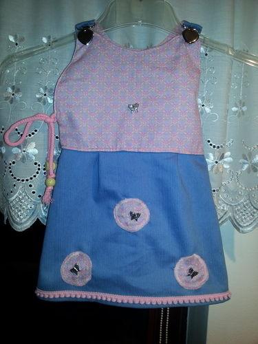 Makerist - Babykleid fuer Femke - Nähprojekte - 1
