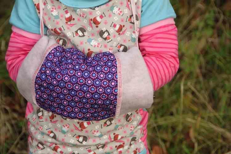 Makerist - Muff für warme Kinderhände - Nähprojekte - 2