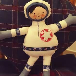 kleiner Astronaut für meinen Sohn