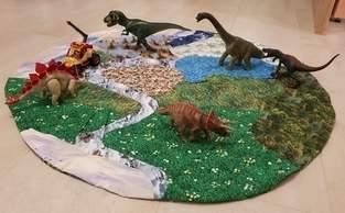 Dino Spielteppich für meinen Sohn