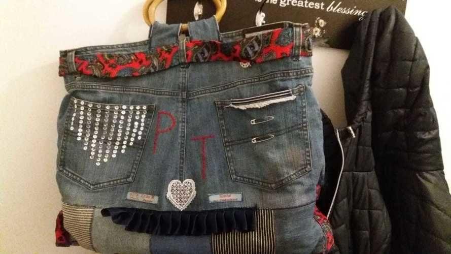 Makerist - Tasche für eine Nichte zum 50. Geburtstag  - Patchwork-Projekte - 2