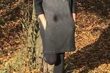Makerist - Kleid Mila aus Herringbone Gradient von Apfelschick  - 1