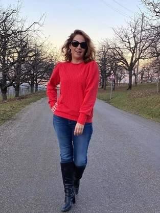 "Frau Calla aus Jacquard-Jersey ""Mira Knit"""
