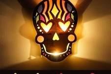 Makerist - Laterne Sugar Skull - 1