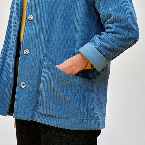 Makerist - Julien - Ready to Sew - Corduroy Chore Jacket - Sewing Showcase - 2
