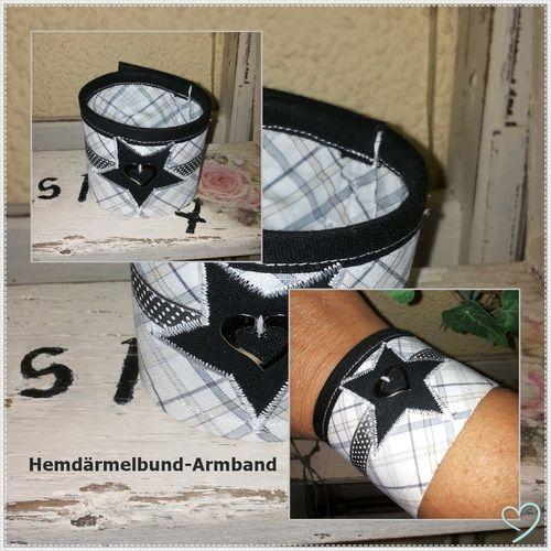 Makerist - Manschetten-Armbänder...  - Nähprojekte - 1