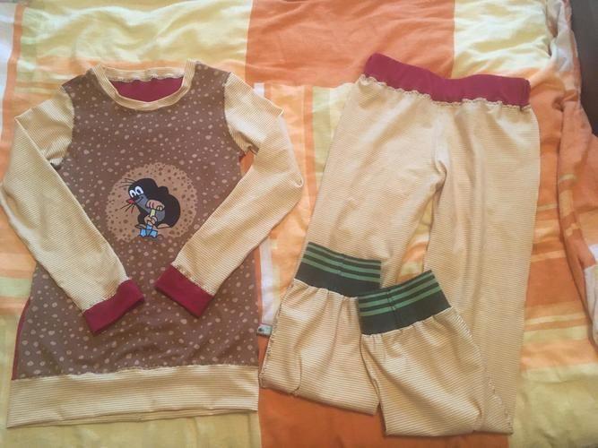 Makerist - Schlafanzug Gr. 146 von meiner Tochter genäht - Nähprojekte - 1